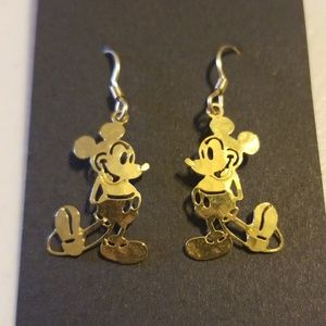 Disney mickey mouse earrings